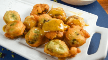 vegan beer-battered brussels spouts
