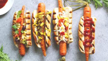 vegan carrot dogs