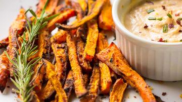vegan carrot fries