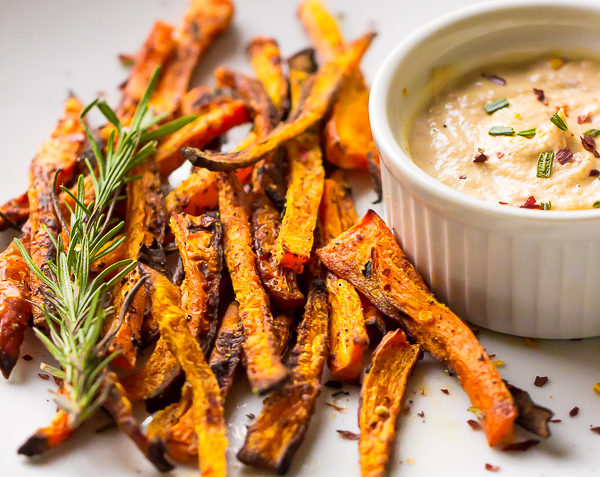 vegan carrot fries