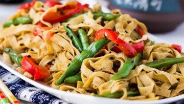 vegan chinese tofu noodles