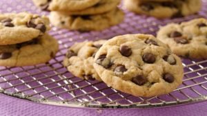 vegan classic chocolate chip cookies