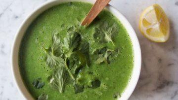 vegan cleansing green soup