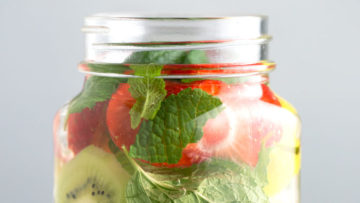 vegan infused water