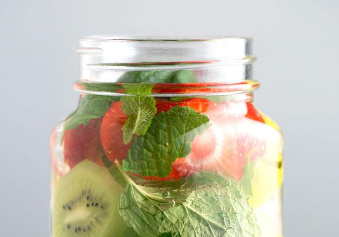 vegan infused water