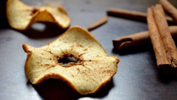 vegan apple chips