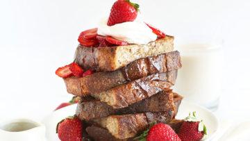 vegan basic french toast
