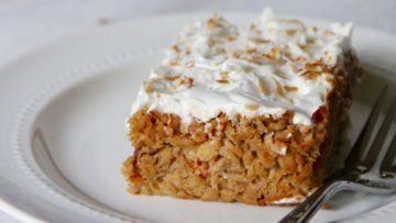 vegan breakfast carrot cake