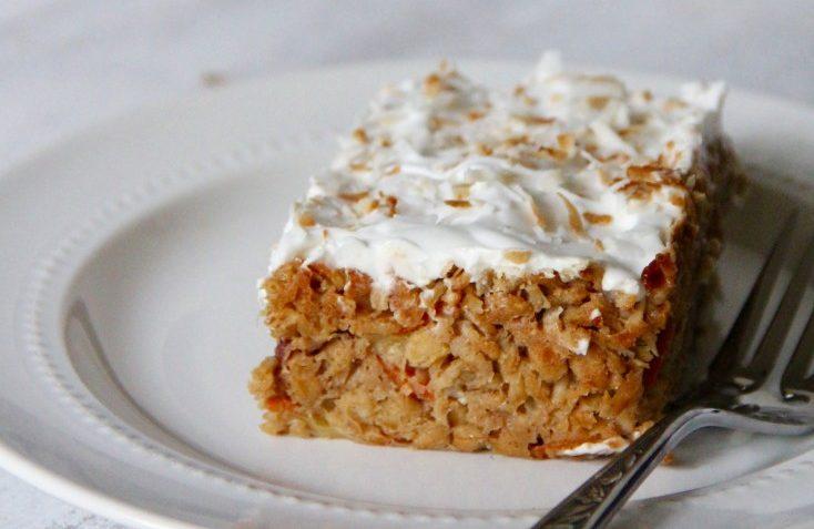 vegan breakfast carrot cake