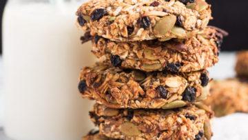 vegan grab and go cookies
