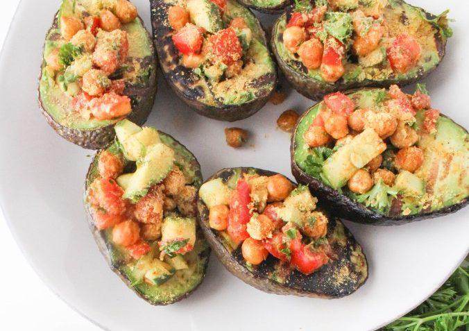 vegan grilled avocados