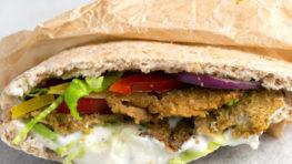 vegan low fat kebab
