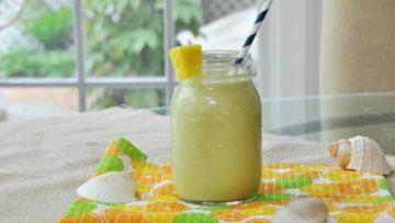 vegan mango protein smoothie