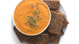 vegan porra antequerana spanish cold tomato soup