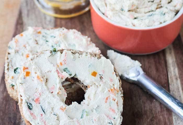vegan veggie cream cheese